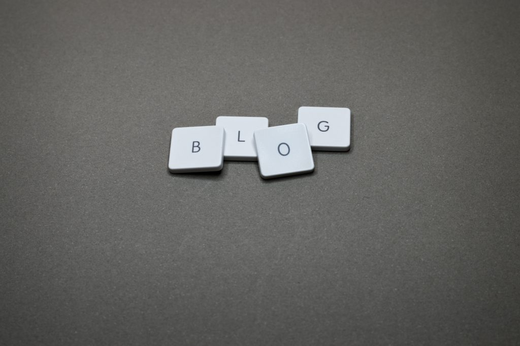 Keyboard keys on gray surface.