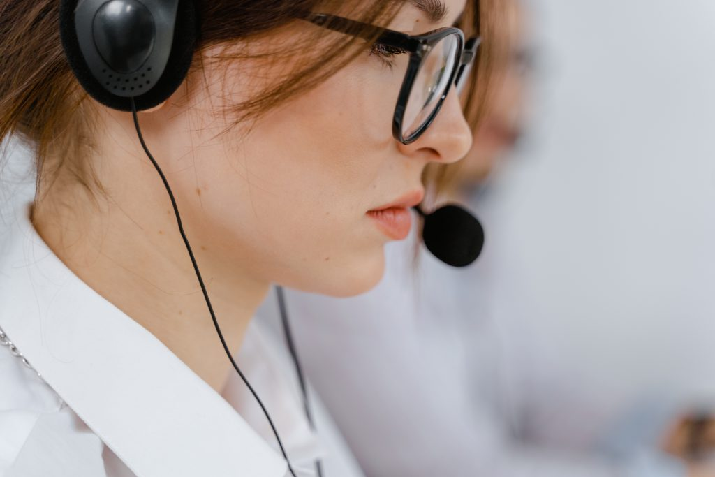 telemarketing lady