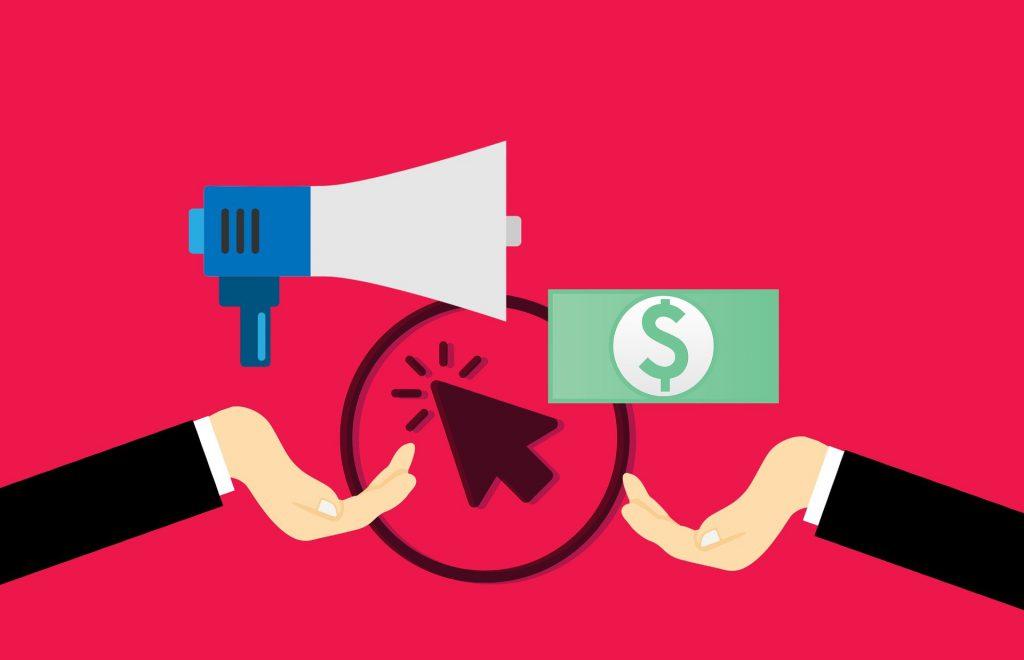 paid advertising illustration